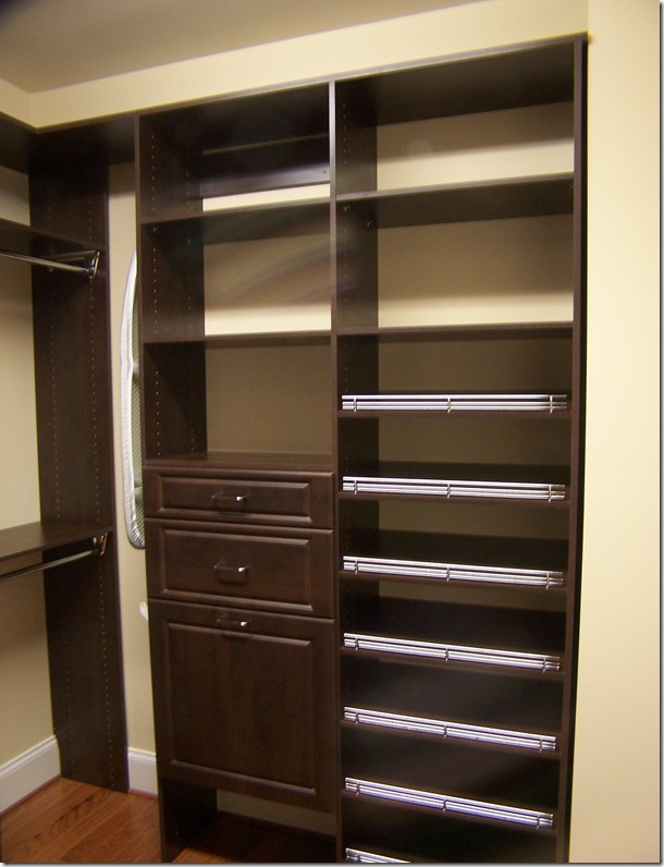 ClosetMaid Wood Laminate Closet